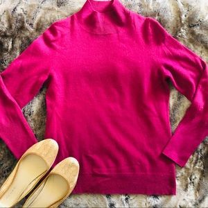 Nordstrom collection pink 100% cashmere sweater